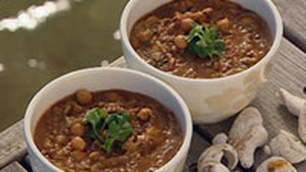 Harira (middle eastern soup)