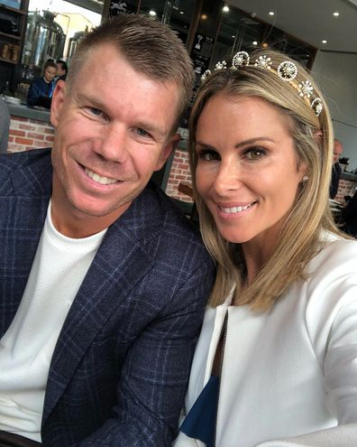 David Warner and wife Candice Warner