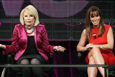 Everyone loves Joan! <br/><br/>In 2012, Rivers got her first reality show <i>Joan and Melissa: Joan Knows Best?</i>. <br/><br/>It showed a more human side to the talk-show queen, focusing on her move to California to be closer to her daughter and grandson Cooper. Eventually Melissa and Cooper moved into Joan's LA mansion which doubled as their TV production office. <br/>