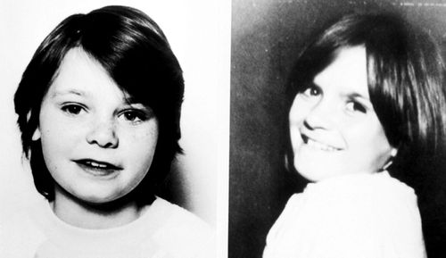 Karen Hadaway (left) and Nicola Fellows. Paedophile Russell Bishop has been found guilty of the 1986 'Babes in the Woods' murders of the two schoolgirls