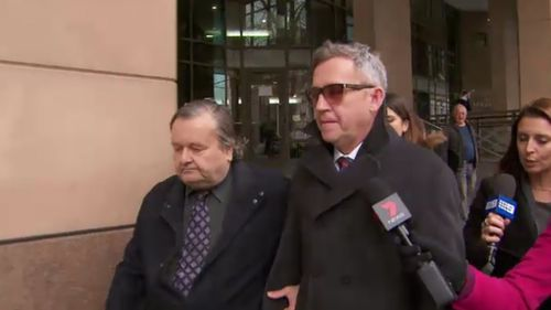 Murphy is on bail and is due back in court on Friday for sentencing. (9NEWS)