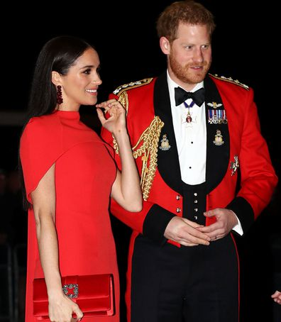 Meghan Markle and Prince Harry at the Mountbatten Music Festival