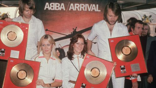 "Abba said it was ""an extremely joyful experience"" to record new music. (Getty)"