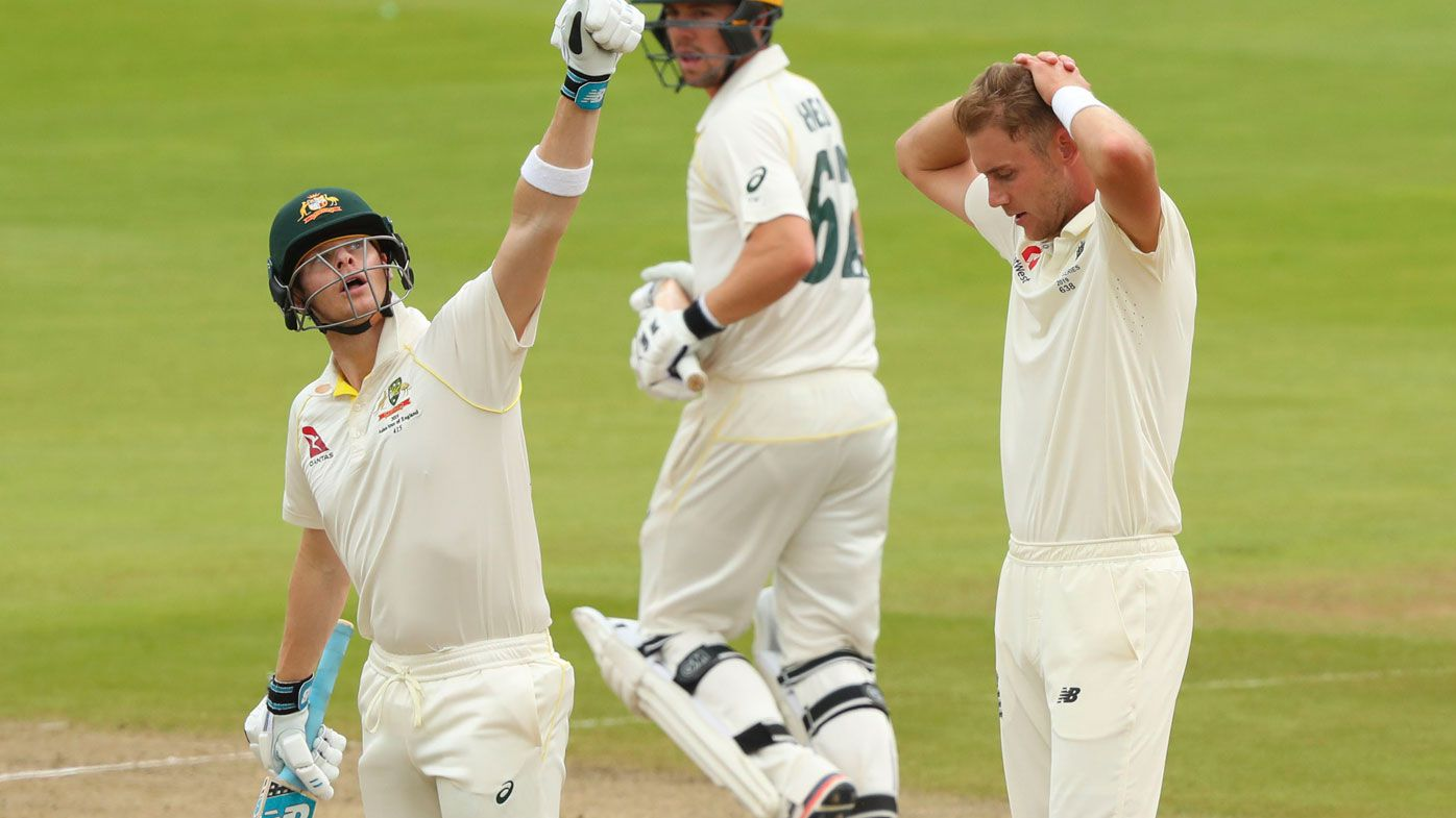 Steve Smith leads Australia at Edgbaston