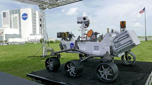 The Mars rover Perseverance