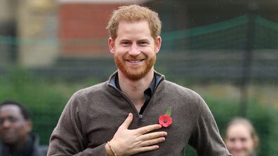 Prince Harry at the launch of Team UK for the Invictus Games The Hague 2020 may be cancelled.