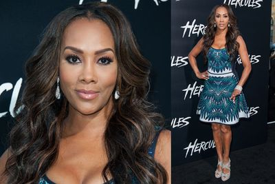 It's <i>Kill Bill</i> star Vivica A Fox! Maybe she makes a cameo in <i>Hercules</i>?!<br/><br/>