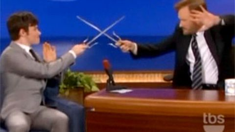 Video: Chris Colfer from Glee is secretly a ninja (no, seriously)