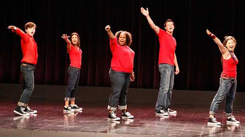If you tried to do Glee in real life, you'd get sued