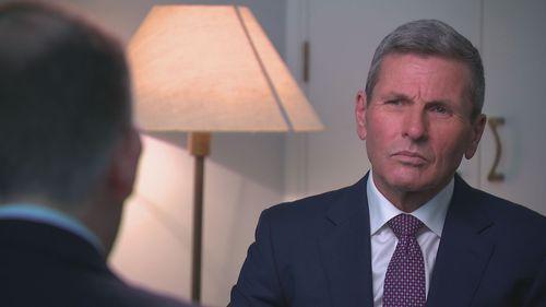 Mr Byrne spoke to 9News political editor Chris Uhlmann.