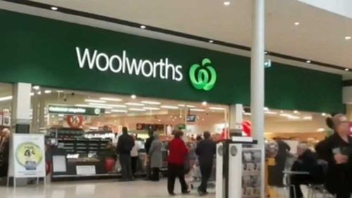 Supermarket giant Woolworths has removed all sewing needles temporarily from shelves in its stores across the country.