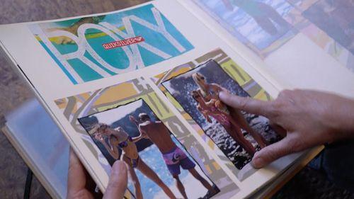 Jill Dodd speaks of successful surfwear brand Roxy's little known beginnings. (9NEWS)