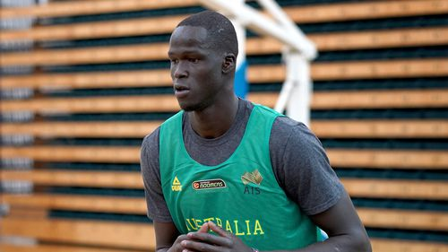 Thon Maker was also hit with a ban for his part in the brawl. Image: AAP
