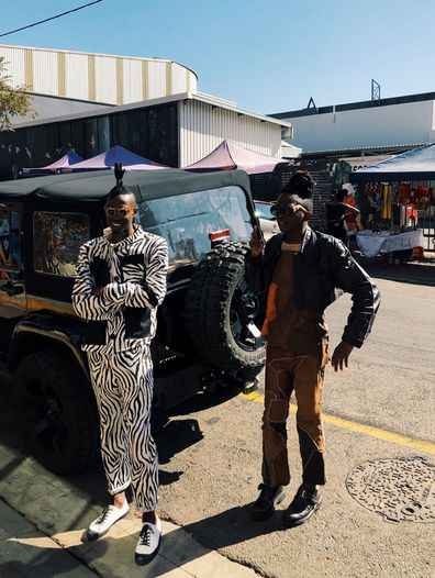 Johannesburg fashions