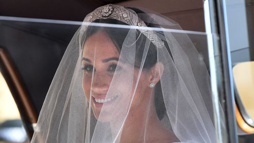 """Thomas Markle said he """"regretted"""" not being able to walk his daughter down the aisle. Picture: AP"""