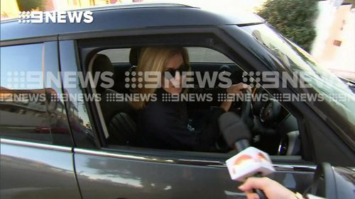 Media personality Deborah Hutton told 9NEWS she was leaving the case to the police.