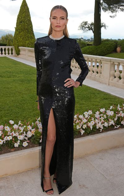 <p>Natasha Poly in Tom Ford</p>