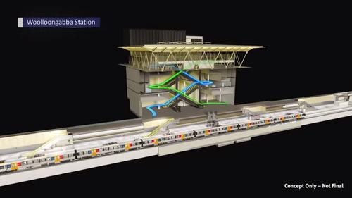 Cross River Rail video.