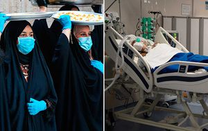 Coronavirus cases spike in Iraq, while New York state deaths reach critical benchmark