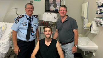 First photo of police officer after horror Brisbane hit-run