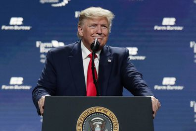 Donald Trump, speech