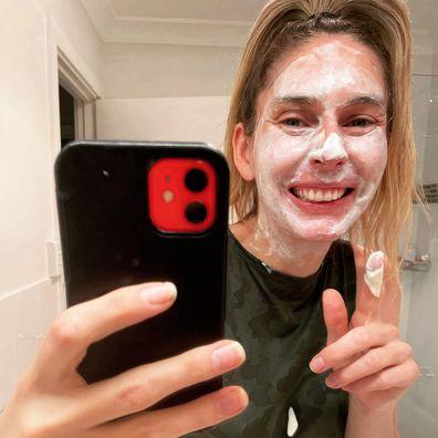 Jessica Braithwaite's DIY beauty mask