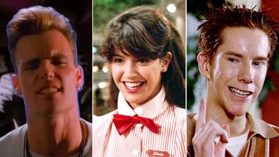 Celebrities, regular jobs, Vanilla ICe, Phoebe Cates, Chris Owen