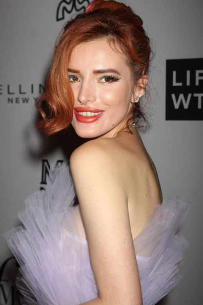 Bella Thorne at The Daily Front Row's Fashion Media Awards in New York City.