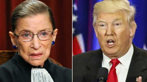 Trump and Supreme Court justice double down in war of words