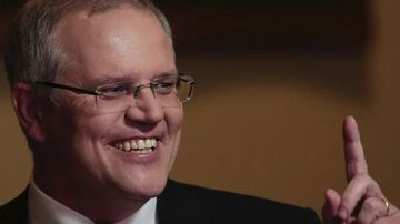 An online prankster has bought the www.scottmorrison.com.au website, revamping the page to feature a photo of the Australian Prime Minister and an iconic song from 2004 classic Eurotrip.