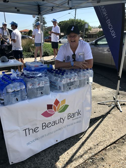 Beauty Bank operations manager Denise Dolan.