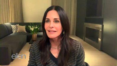 Courteney Cox discusses being Ellen's new 'roommate'