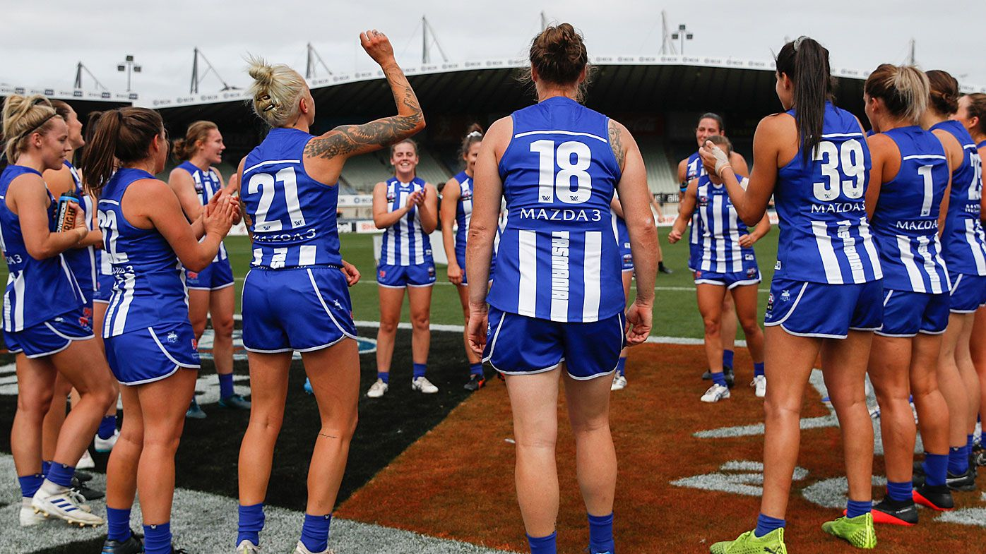 North Melbourne's AFLW coach departs amid 'very difficult' cost cuts