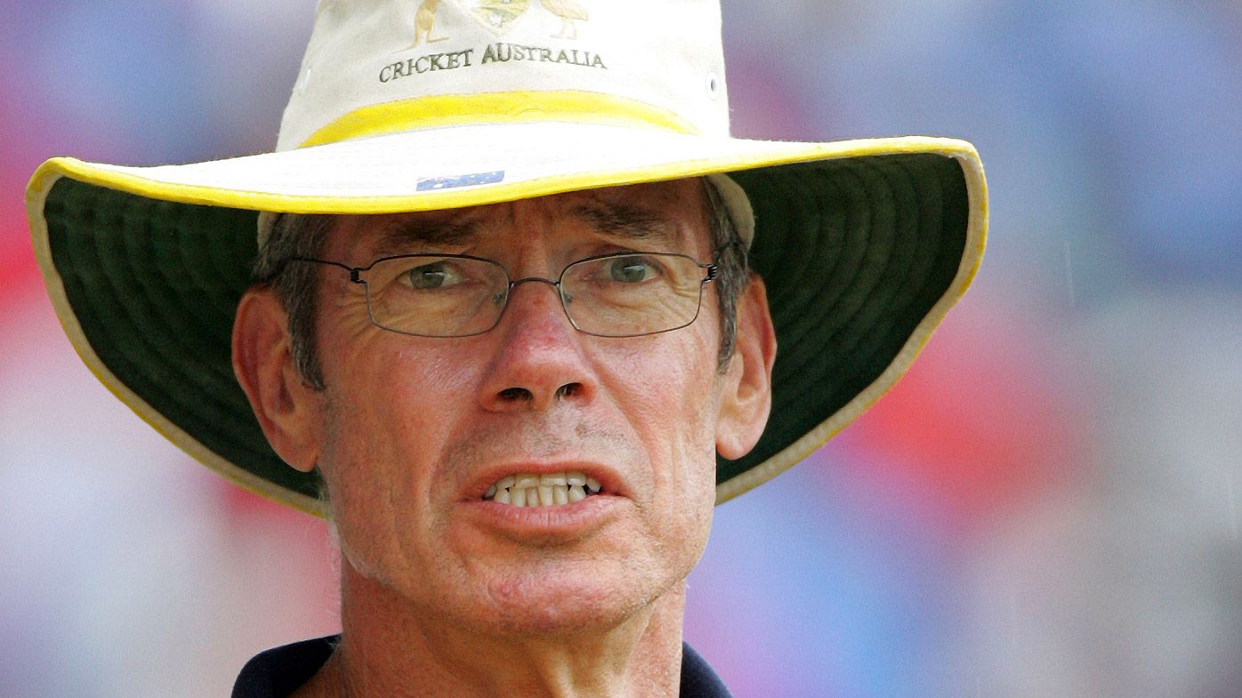 Australian cricket coach John Buchanan