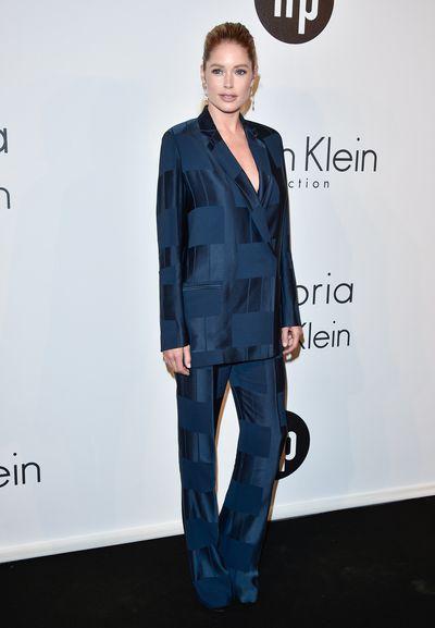 <p>Doutzen Kroesin Calvin Klein Collection</p>