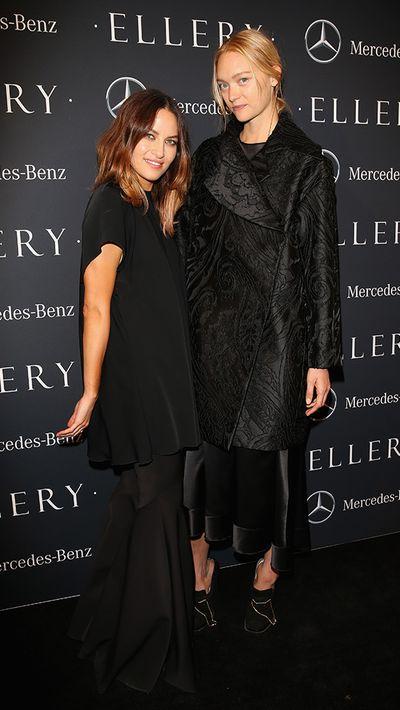 Kym Ellery and Gemma Ward