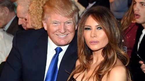 Donald and Melania Trump. (AFP file image)