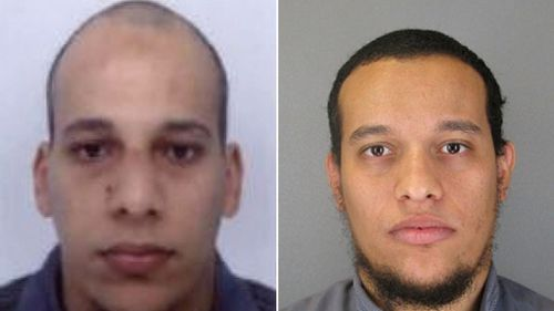 Chérif Kouachi and Said Kouachi. (Supplied)