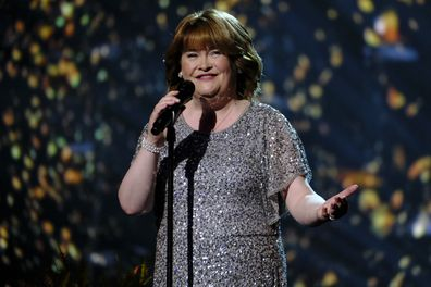 Susan Boyle on America's Got Talent: The Champions in 2019.