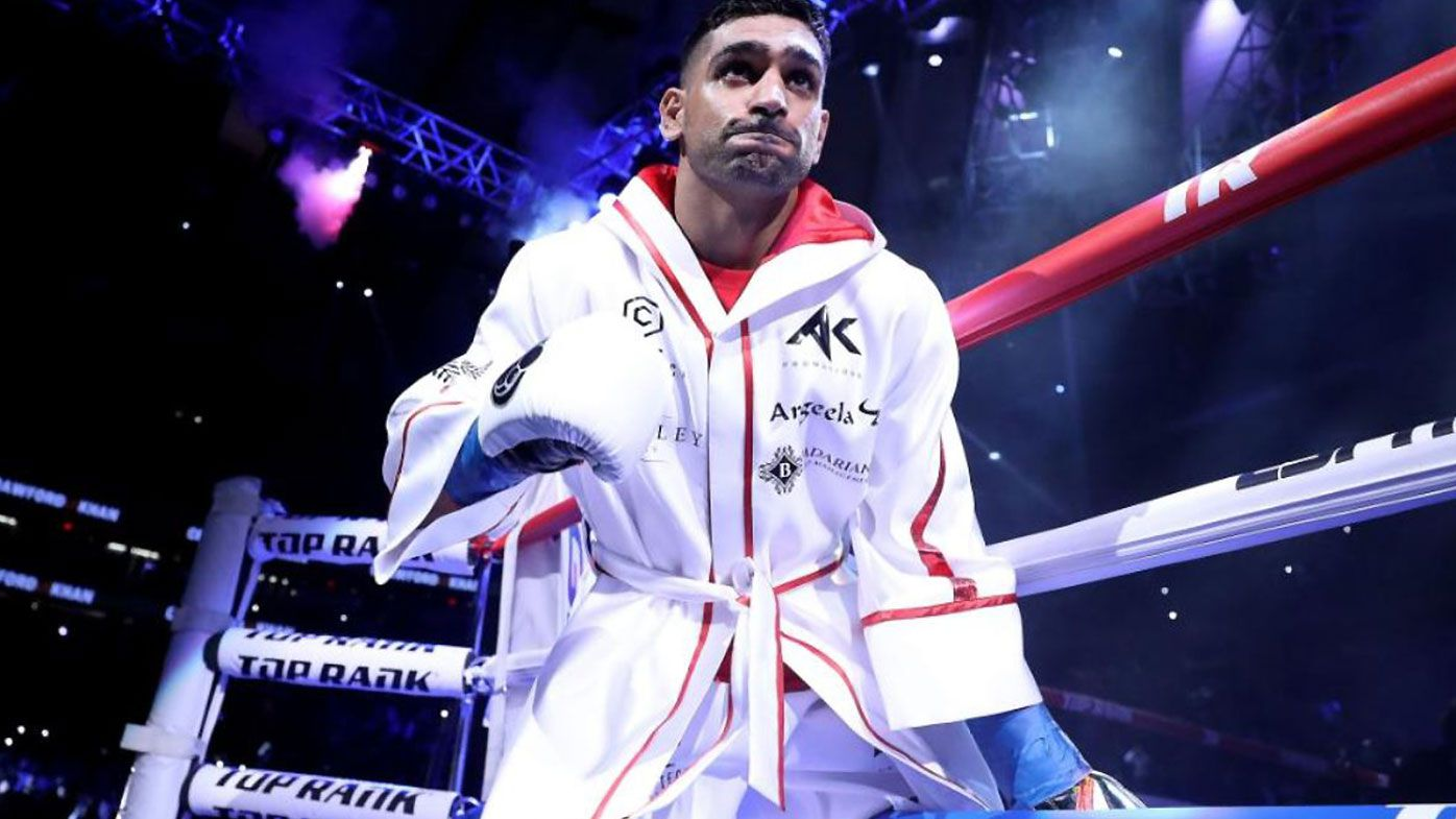 Aussie boxer Billy Dib savaged by Amir Khan in 'bizarre' Saudi Arabian bout