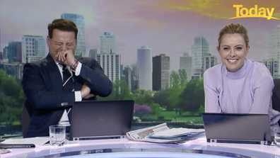 Stefanovic burst into laughter.