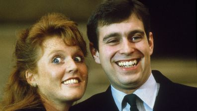 Fergie shares a rare picture of Prince Andrew