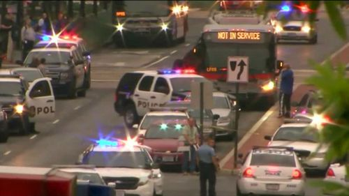 US Navy base given all clear after active shooter scare