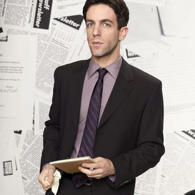 BJ Novak as Ryan Howard: Then