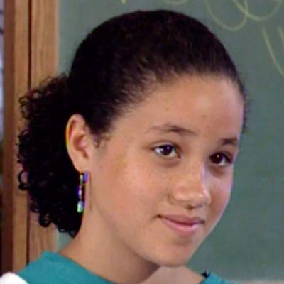 Meghan Markle aged 11, 1993
