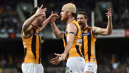 Hawks soar into 2015 AFL grand final after victory over Dockers