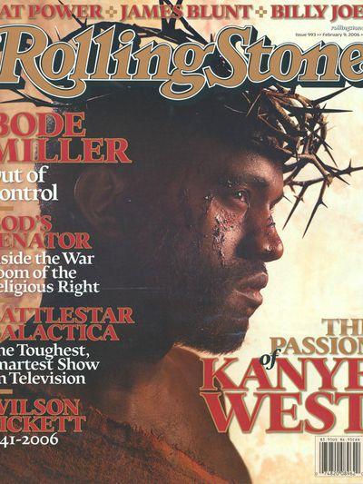 <p>Kanye West, 2006</p>