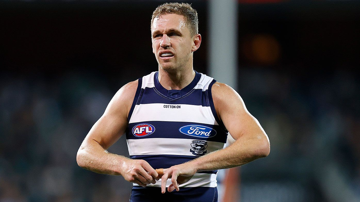 Geelong's Joel Selwood undergoes surgery on injured finger