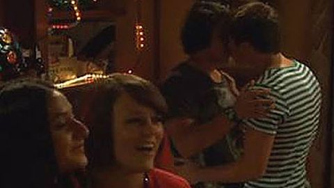 Watch: <i>Neighbours</i> airs first gay male kiss