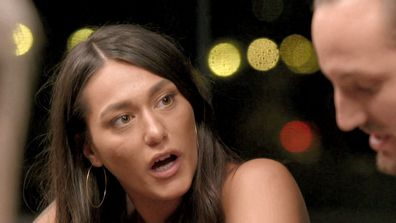 Connie's question leaves Jonethen shocked on Married At First Sight 2020.